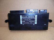 MG ZT / ROVER 75 2001 BCM BODY CONTROL ECU YWC112330