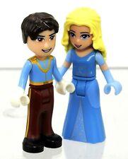 Genuine LEGO Prince Charming and Cinderella Mini figurine Disney Princess