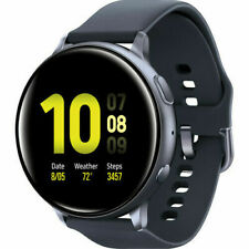 Samsung Galaxy Watch Active 2 SM-R825F/ R835F | 44mm/40mm with Sport Band-BLACK