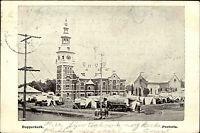 Pretoria Südafrika South Africa 1900 Dopperkerk Kirche Church gelaufen frankiert