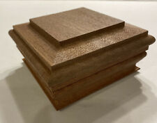 """Woodway Post Cap For 4""""x4"""" Mahogany Flat Top FREE  SHIPPING!"""