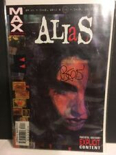 Alias #1 First Jessica Jones : Signed by Brian Bendis - Marvel Comic DEFENDERS