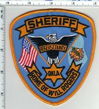 Rogers County Sheriff (Oklahoma) Shoulder Patch from the 1980's