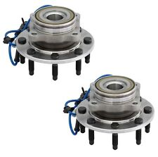 Pair Set of 2 Front Moog 8 Stud Wheel Bearing Hub Assies Kit for Chevy GMC 4WD