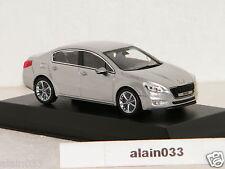 PEUGEOT 508 Aluminium Silver 2012 NOREV 1/43 Ref 475806