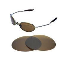 NUEVAS POLARIZADAS Bronce Repuesto Lentes Para Oakley e-wire1.0 GAFAS DE SOL