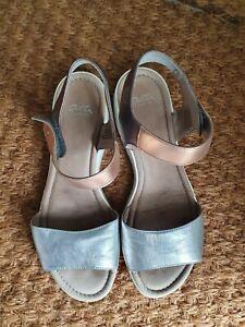 Ara Sandals Metallic Tri-tone Women's 40