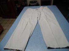 White Stag white size 18W average button/zip front pants
