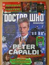 Dr Doctor Who magazine January 2016 issue 494 Peter Capaldi