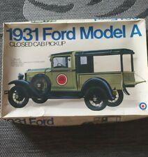Entex 1931 Ford Model A Closed Cab Pickup 1/16