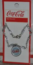 New Genuine Coca Cola Charm Bracelet Original Diet Coke - $7.50 Retail