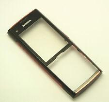 ORIGINALE Nokia x2-00 front cover telaio frame guscio superiore chassis Vetro Display Rosso