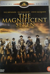 DVD - LES SEPT MERCENAIRES / McQUEEN, BRYNNER, WALLACH, BRONSON, VAUGHN, MGM
