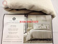 Hotel Collection Natural Linen Collection FULL / QUEEN Duvet Cover