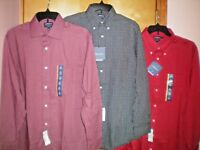 NWT NEW mens CROFT & BARROW l/s dress shirt classic fit