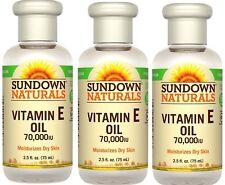 Sundown Naturals Vitamin E Oil 2.50 oz (Pack of 3) Pack of 3