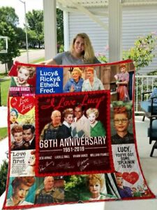 I LOVE LUCY Quilt Blanket 02