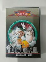 The Quest for the Holy Grail - Sinclair ZX Spectrum 48k computer game - by Dream