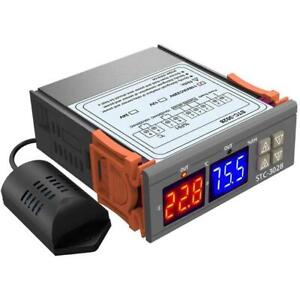 STC-3028 AC110-220V Dual LED Temperature Humidity  Controller