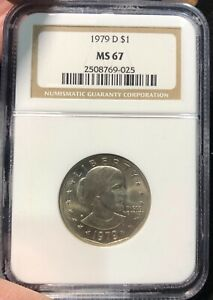 ***** !!! Susan B Anthony NGC 1979-D MS67 !!! *****