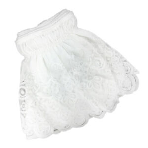 Lace Ruffle Elastic Band Bed Skirt 100x200cm King Size No Bed Sheet