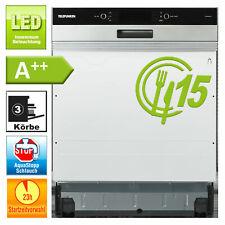 Geschirrspüler 60cm Einbau A++ Spülmaschine 8 Programme Aquastop teilintegriert
