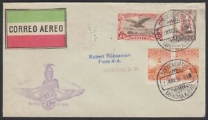 MEXICO, 1929. First Flight Cover Tapachula - Mexico City