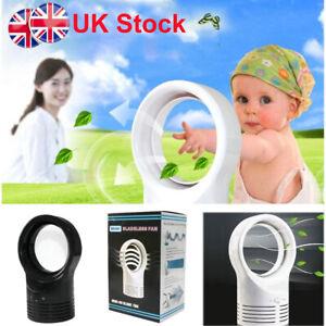 Bladeless Fan Portable AirFlow Cooling Fan Mute Dedicated Leafless Summer UK