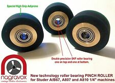 Studer A67 B67 A807 A810  DELUXE roller bearing PINCH ROLLER kit