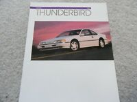 1993 Ford Thunderbird Sales Brochure