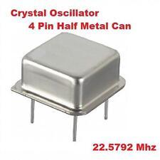 22.5792Mhz 22.5792 Mhz CRYSTAL OSCILLATOR 1/2 CAN 10pcs