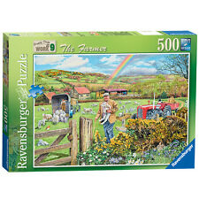 Happy Days at Work The Farmer 500 Piece Ravensburger Jigsaw