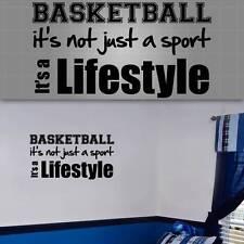 "Basketball Wall Quote. Basketball Wall Decal, Basketball Sticker, 36""x20"""
