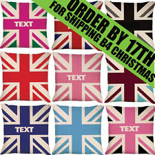 Union Jack | Cushion | Personalised | Birthday | Gift