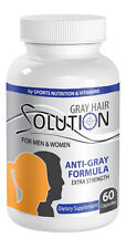Go Away Gray Anti Gray Hair Formula for Man & Women. (1 Bottle)