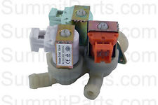 3 Way, 110V Inlet Valve For Wascomat Washers - 823604N, 823654N