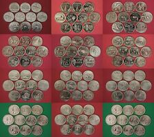 100 State Quarters Set 1999-2008 P & D From Uncirculated Mint Sets All 50 States