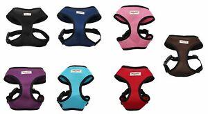 Winzee Pet Dog Puppy Harness Soft Adjustable Reflective Comfortable Vest UK