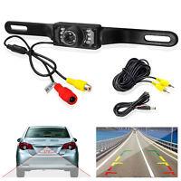 CMOS Car License Plate Rear View Reverse Backup Night Vision Camera Waterproof