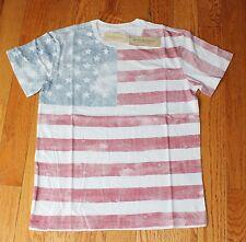 New listing $39.50 New Denim & Supply Usa T-Shirt Men's Large L American Flag Americana Nwt