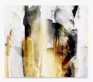 John Lewis Green Lili Grande Terre I Abstract Canvas Print 60 x 70cm A
