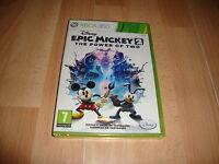 EPIC MICKEY 2 THE POWER OF TWO DE DISNEY PARA LA XBOX 360 NUEVO PRECINTADO