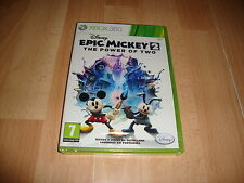 EPIC MICKEY 2 THE POWER OF TWO DE DISNEY PARA LA XBOX 360 NUEVO PRECINTADO