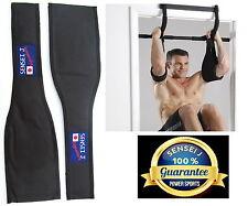 NEW AB Slings/Straps 'ECLIPSE' Sensei J 17inch , Chinning Bar Gym Pull Ups Leg R