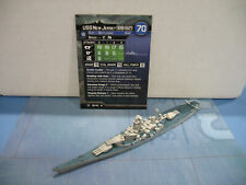 Axis & Allies War at Sea Surface Action USS New Jersey (BB 62) 18/40