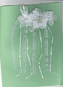 Blanc Fleur Mariage Corsage Mariage Broderie