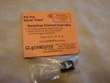 Glock MBCIMINI Glockmeister Black Backstrap Channel Insert Gen3, 26 27 28 33 39