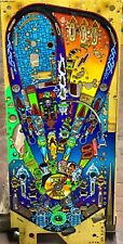 Pinball Monster Bash Williams 1998 Flipper - PLAYFIELD - USED - Cond. 8/10 Mod.2