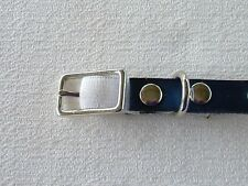 #Ca5*Personalize Leather Cat Collar with Stretch Insert