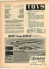 1967 ADVERT Craft Master Airfix Air France Concorde B 24 Liberator Lancaster +